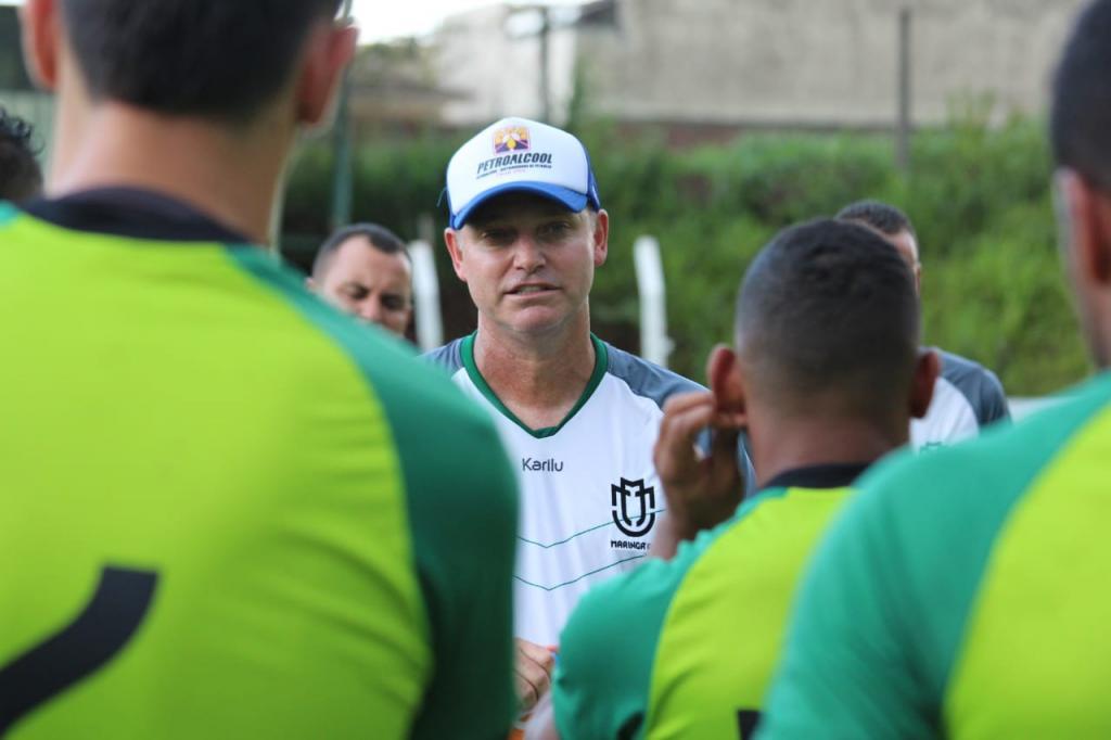 ab4ce8df7cfe3 Jornal Noroeste - Maringá FC treina sob o comando de Sandro Forner ...